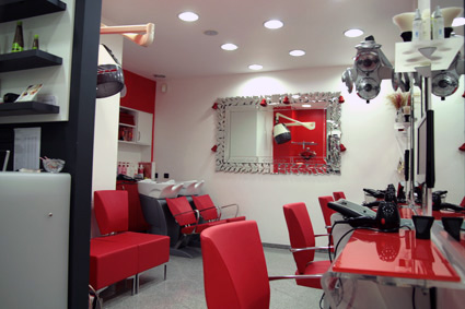 frizerski salon tom dio za ženske frizure